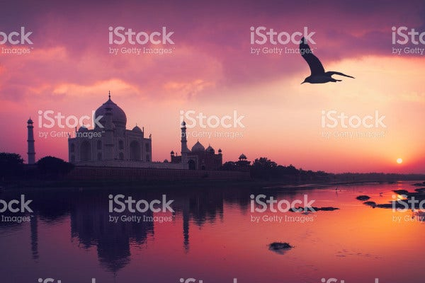 Sunset Tajmahal Photography
