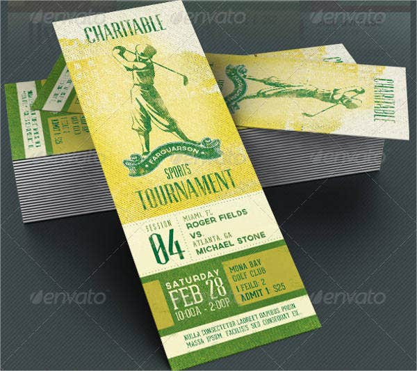 Event Ticket Template 9 Free PSD Vector AI EPS Format – Free Event Ticket Maker