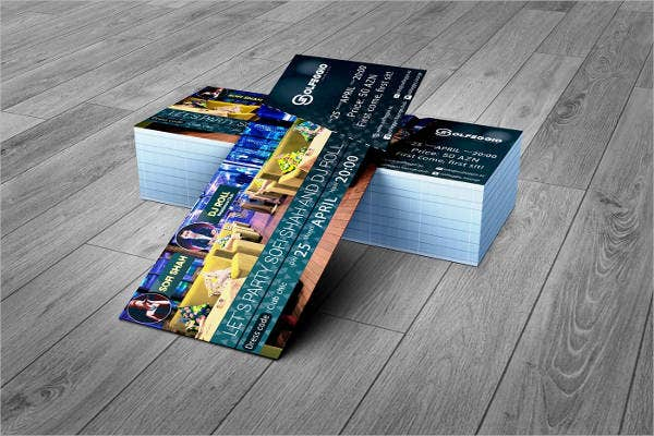 event ticket template 9 free psd vector ai eps format download