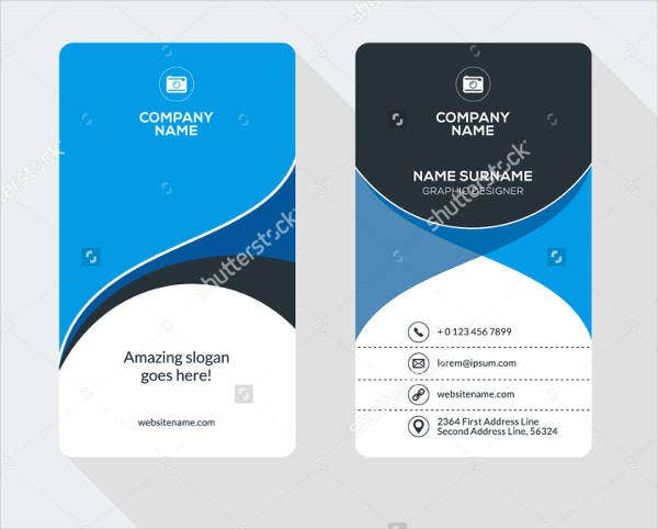 Delightful Company ID Card Template