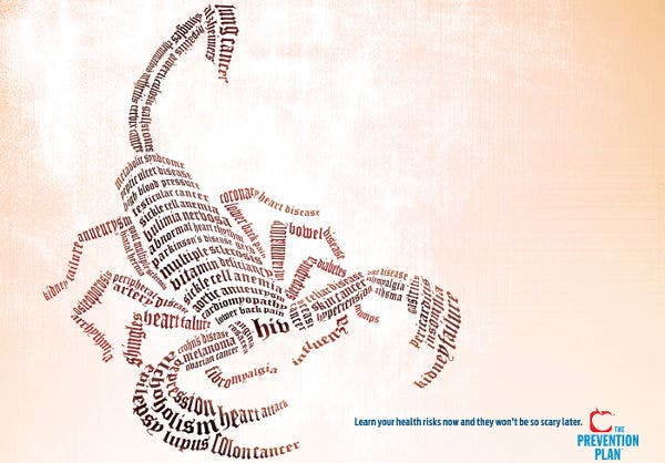 Scorpion Typography Art