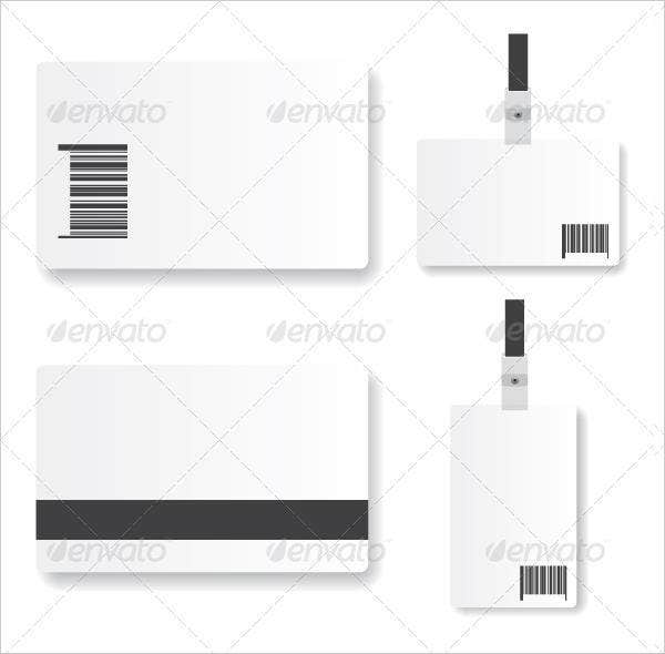 ID Card Template Free PSD Vector EPS PNG Format Download - Card template free: blank id card template