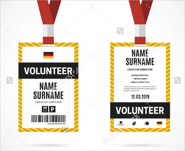 volunteer-id-card-template