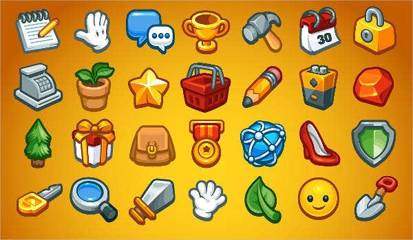 Social Game Icons