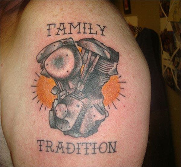family sleeve tattoo