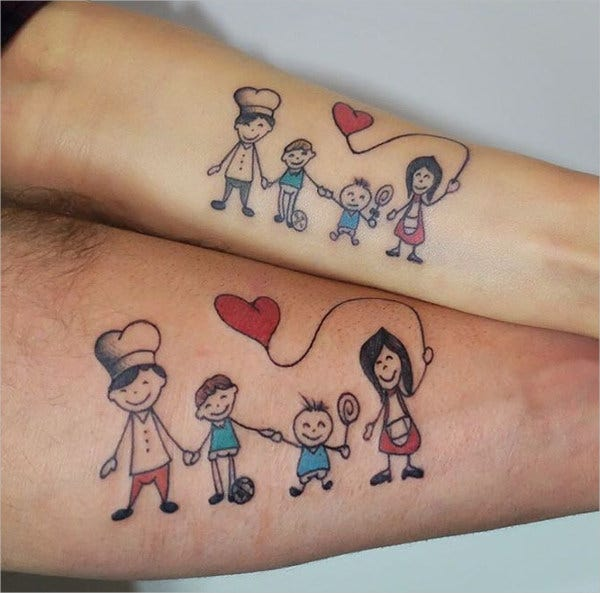 traditional family tattoo