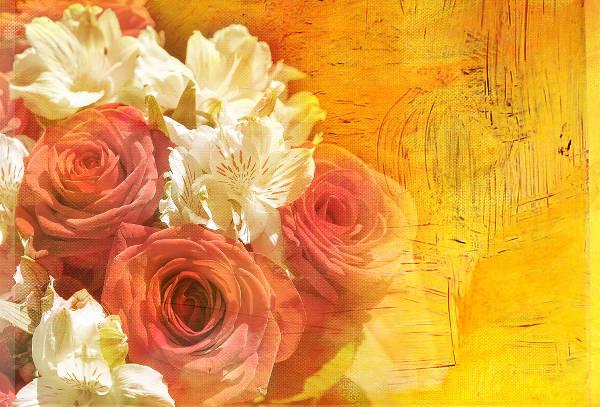 Sunny Autumn Floral Art