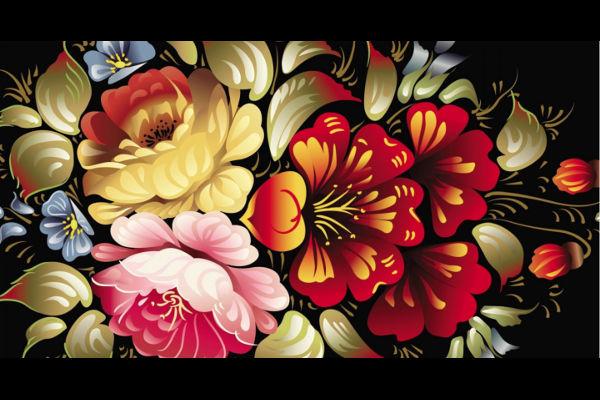 Floral Bouquet Art