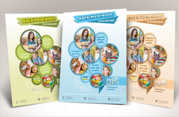 multipurpose daycare flyer template