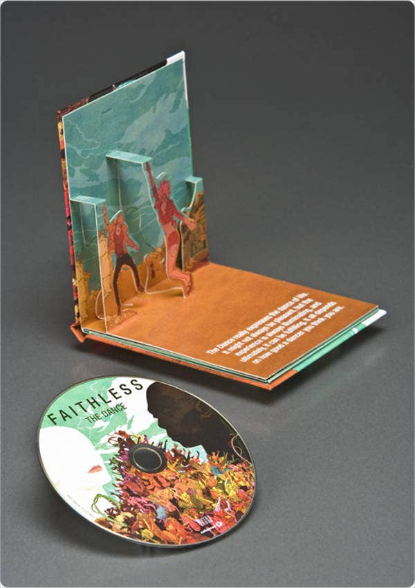 cd packaging template