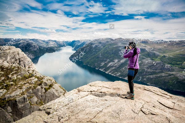 Travel Photography of Tourist