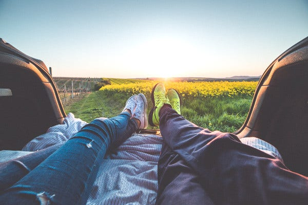 Travel Photography of Couple