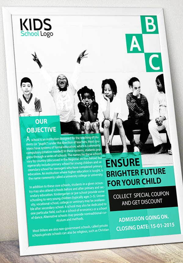 Daycare School Flyer
