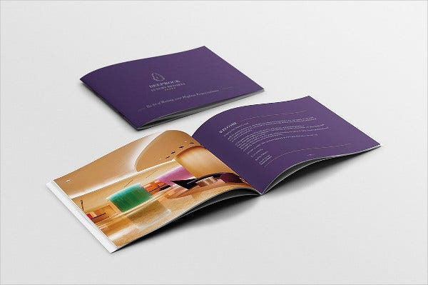 Hotel Booklet Template