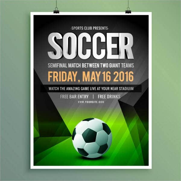 Free Sports Poster Template
