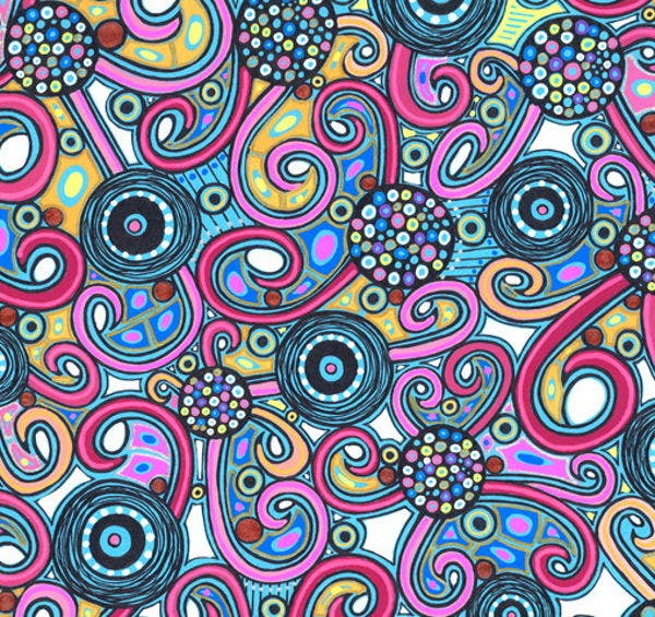 Colorful Abstract Drawing