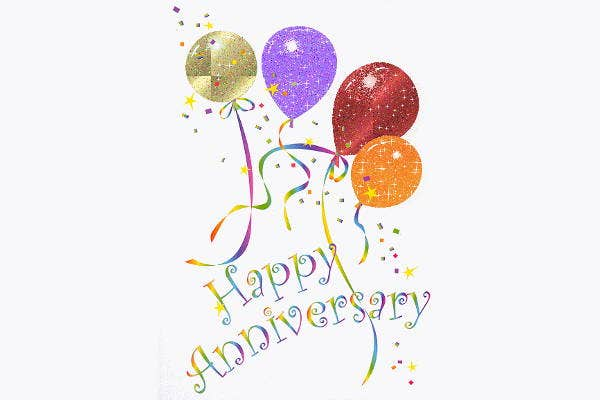 Happy Anniversary Clip Art