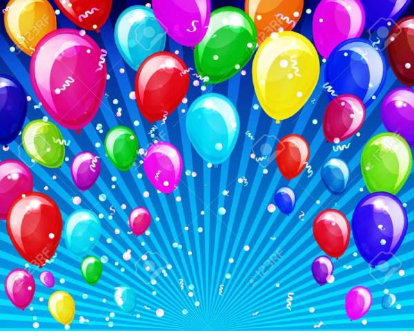 Anniversary Balloons Clip Art
