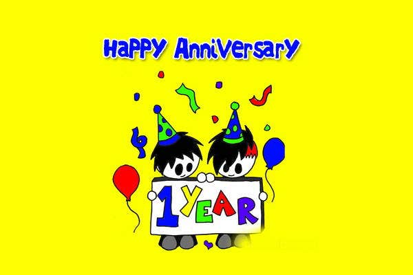 Anniversary Celebration Clip Art