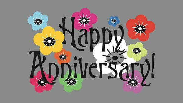 10 Awesome Anniversary Clip Arts Vector Eps Jpg Png Format