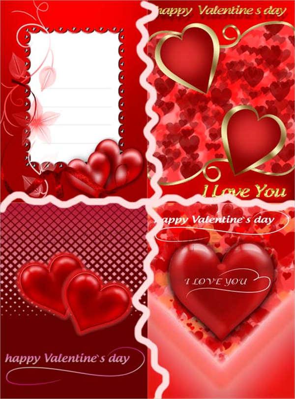 Free Blank Valentine Card