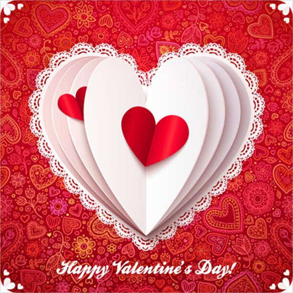 Free Valentine Cards 9 Free Psd Vector Ai Eps Format Download