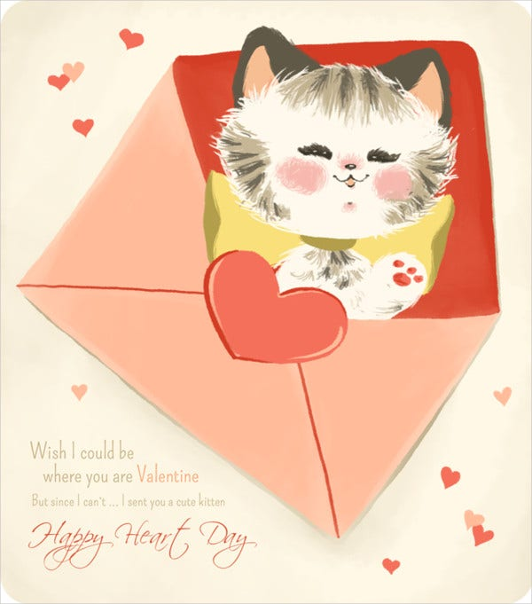Free Valentine Cards 9 Free PSD Vector AI EPS Format Download – Valentines Card Free