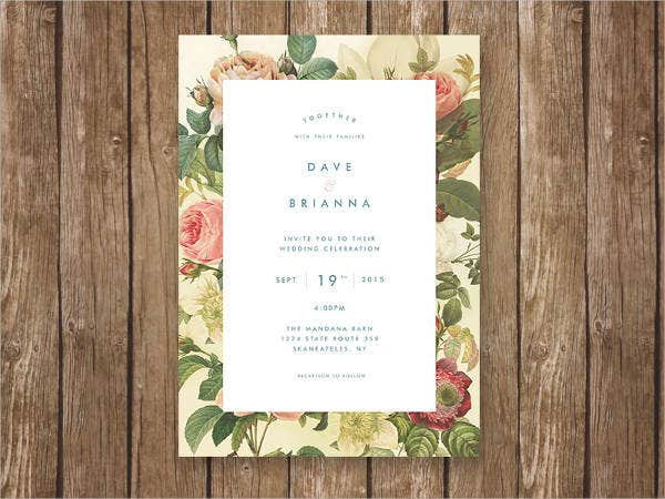 free wedding printable invitation