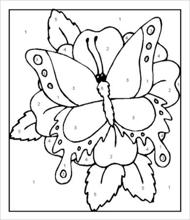 Free Printable Butterfly Coloring Pages For Adults