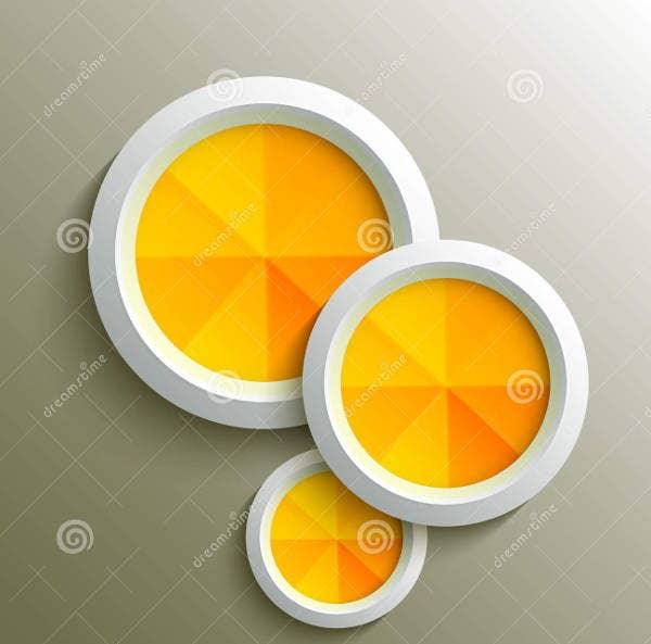 3d circle design