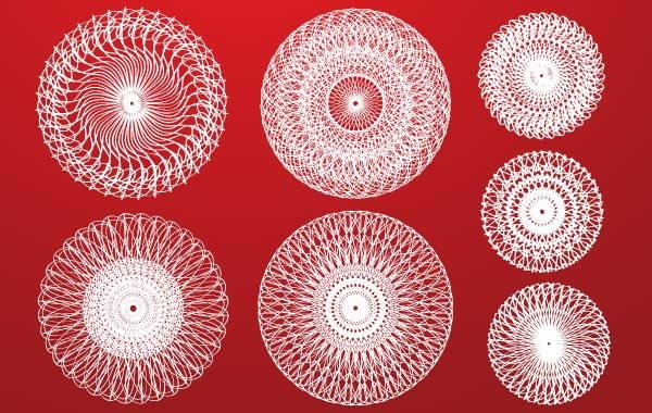 White Circle Design