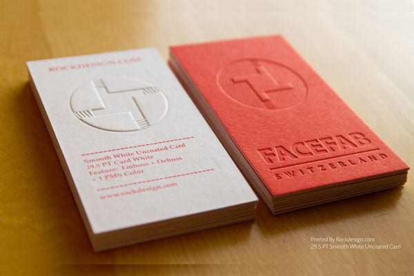 16 examples of embossed business card designs free premium free emboss business card reheart Image collections