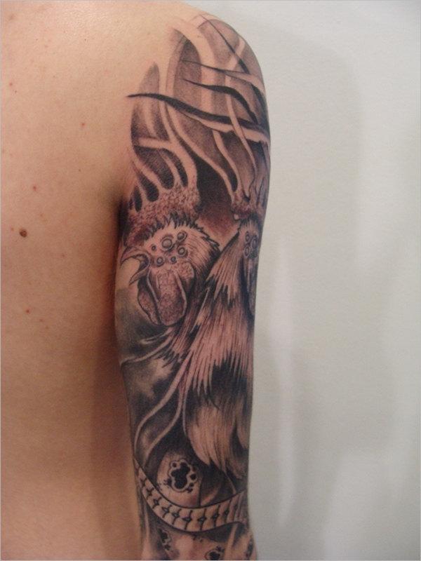 Cool Arm Tattoo Design