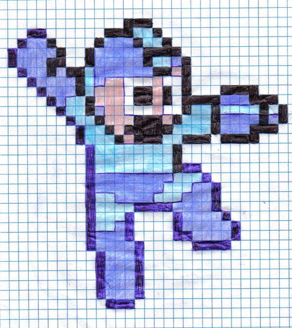 pixel art drawing