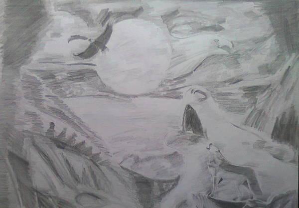 nature art drawing
