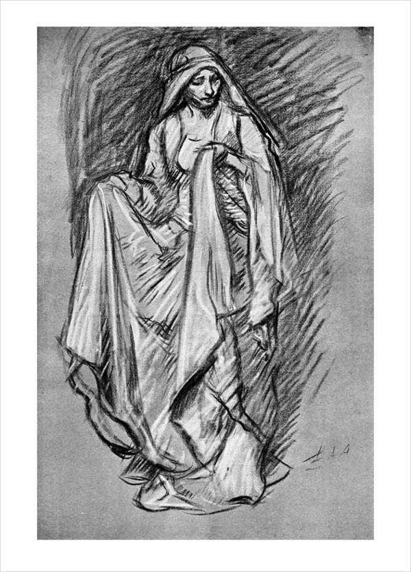 black-and-white-sketch-art