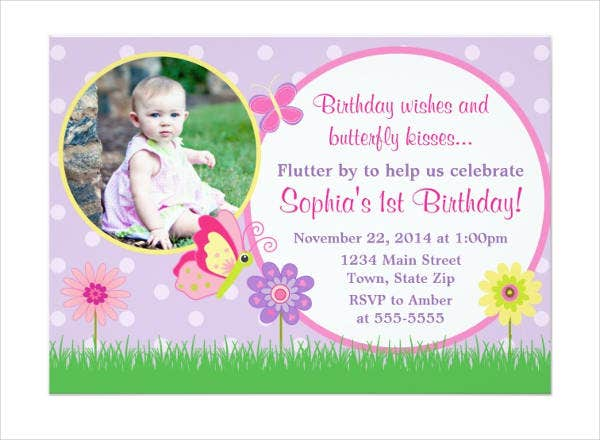 Butterfly invitation templates 9 free psd vector ai eps butterfly birthday invitation template stopboris Images