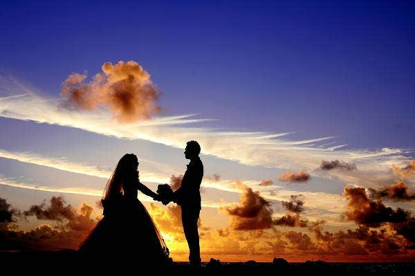 Wedding Silhouette Photography