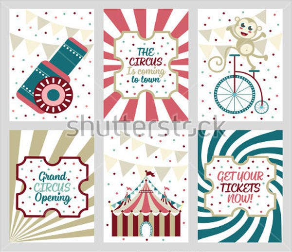 Carnival themed Invitation Template