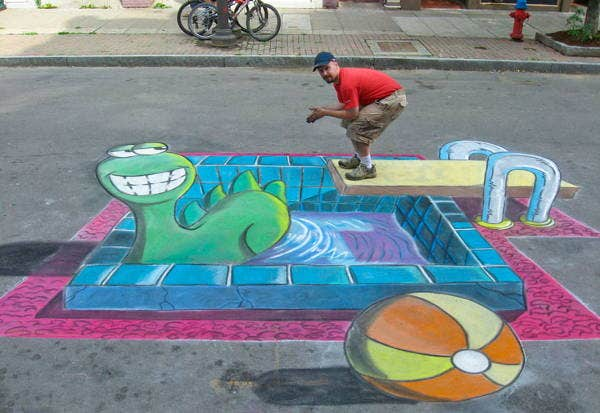 chalk-drawing-illusions