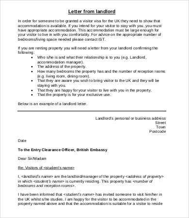 Letter Of Employment Verification For Landlord