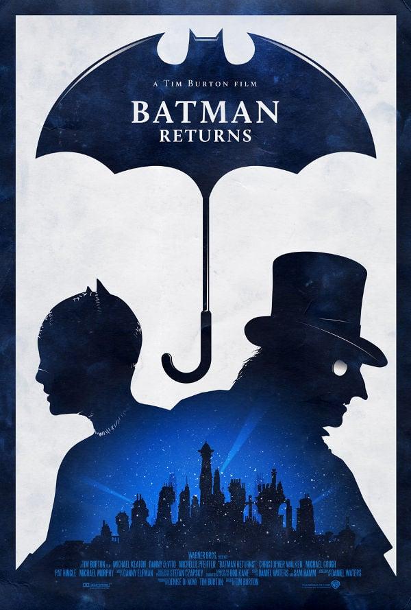 Batman Returns Poster Design