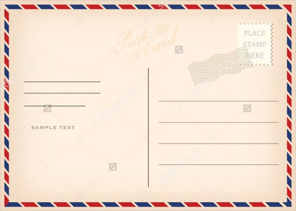Smart image pertaining to printable post cards