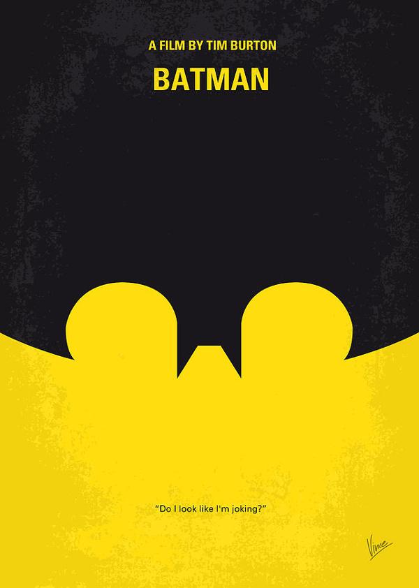 Minimalist Batman Poster Design