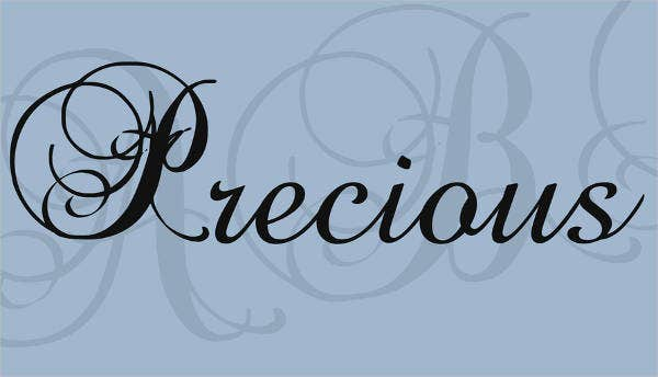 tattoo lettering cursive font