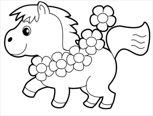 8 Childrens Coloring Pages Free Premium Templates
