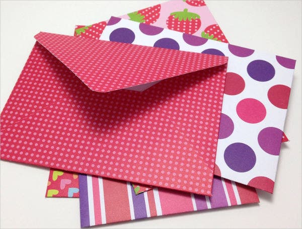 Set of 5 Letter Envelopes