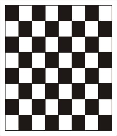 checkers game board template
