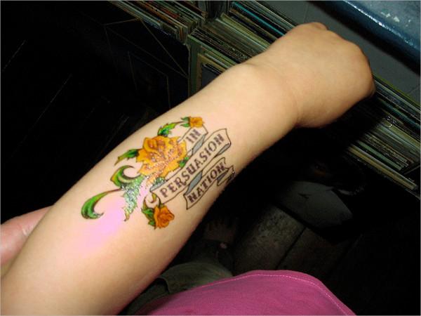 Literary Ink Tattoo