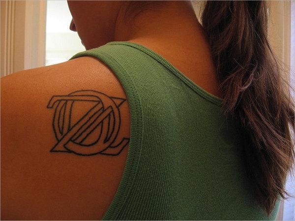 Literary Symbol Tattoo